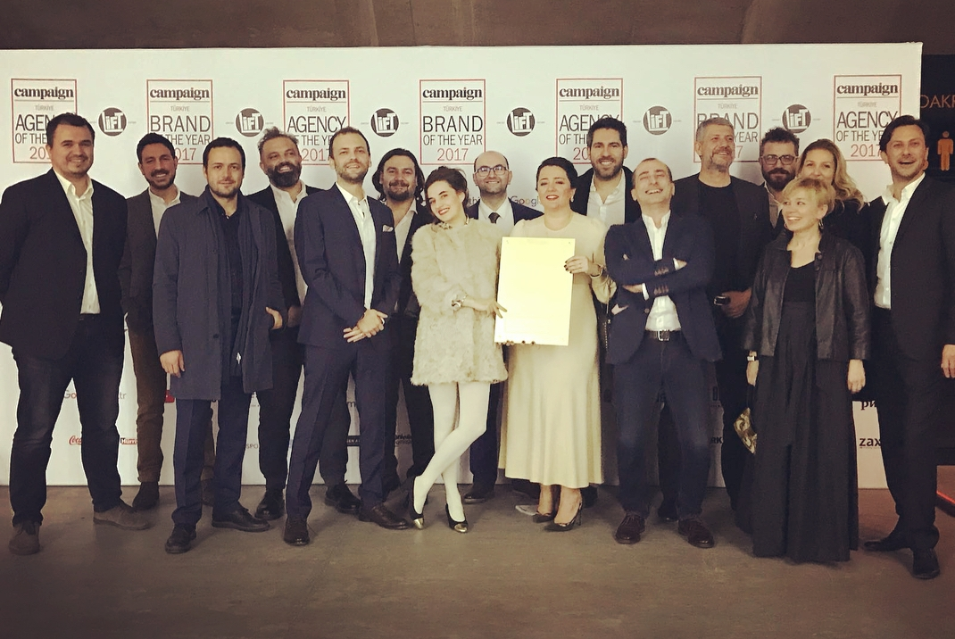 """TBWA\Istanbul Campaign """"Agency of the Year"""" seçildi"""